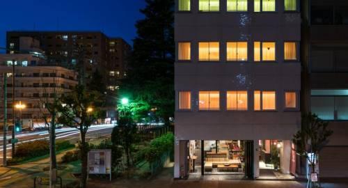 Grids Hostel Lounge Akihabara