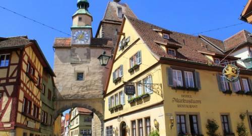 Romantik Hotel Markusturm ob der Tauber