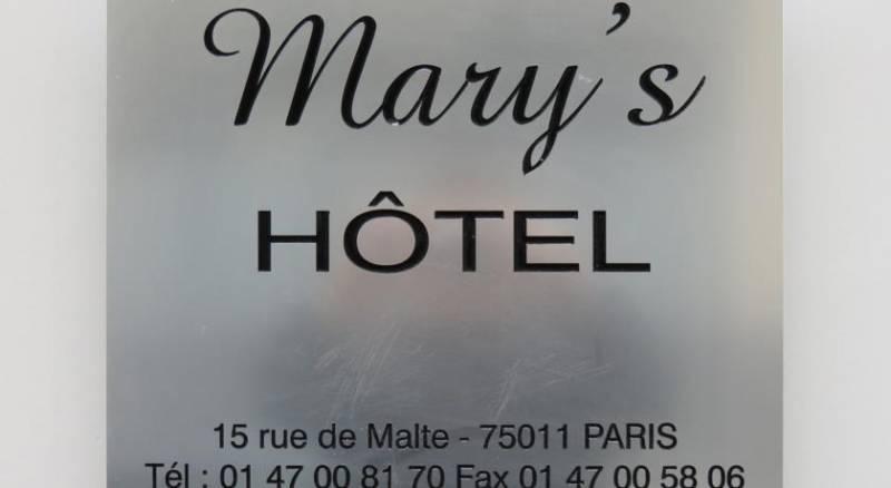 Mary's Hotel République