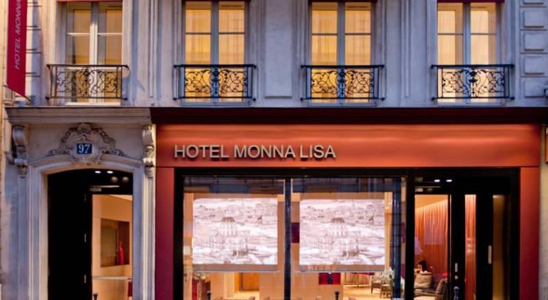 Hôtel Monna Lisa Champs Elysées